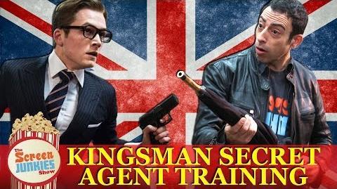 Kingsman Secret Agent Training - Screen Junkies in London!