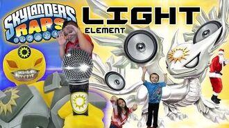 Skylanders Raps LIGHT Element Song (Trap Team Music Video)