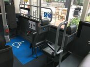 Optare Solo SR wheelchair space