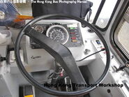 Big Bus Dominator driver cabin