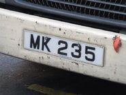 Toyota MK235 Plate