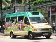 Hong Kong Green Minibus Kowloon 2A LH1994-1