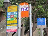 HSBC Main Bldg QRC signs