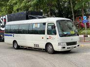 JJ7025 Ma On Shan Residents Bus Management Association NR84 in Yiu On Estate 15-07-2020