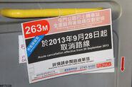 KMB 263M Cancel Poster