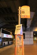 84M bus stop
