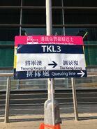 MTR Free Shuttle Bus TKL3 stop 3