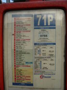 CTB 71P Route Info 20060326