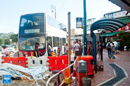 Lau Fau Shan Bus Terminus 20160619