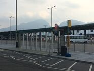 T1 and T2 bus stop view for CTB and LWB S1