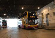 CTB 6854 WN9117 S56 at Tung Chung Station BT