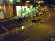 Tai Hang Tung Road water pipe burst 3