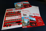 KMB Red bus experience day souvenir 201708