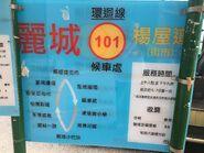 Yeung Uk Road Market to Bevedere Garden(Route no 101) stop