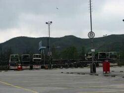 KMB Tin Pak Road Depot Fire Outbreak