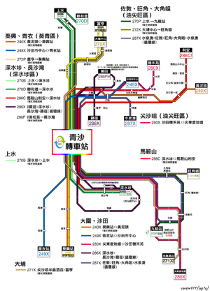 TSIC Route Map
