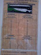 WharfShuttleBus Timetable