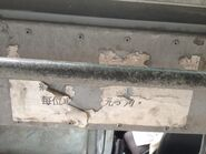 Man Uk Pin Lorry Bus fare notice