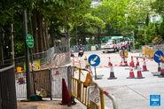 Shek Wai Kok Minibus Terminus Shek On Street 20160610 2