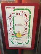 Big Bus Red and Green Route map