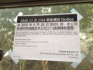 GMB 23 and 23M cancel MTR interchange discount