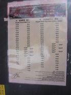 NR837 Timetable