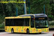 UX6497 @ Hong Kong Disneyland Resort shuttle bus