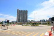 Shing Kai Road outside Main Stadium of Kai Tak Sports Park