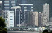 Quarry Bay (from Lam Tin)