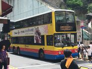 CTB 2313 Free MTR Shuttle Bus S1A in Kennedy Town Station 01-07-2019