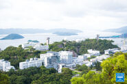 CUHK from Kau To 20170715