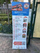 KMB teach tourist take 1A