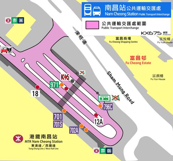 Nam Cheong Station PTI Plan