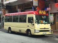 WF3618 Hung Hom to Mong Kok(Route no 71) 25-09-2019