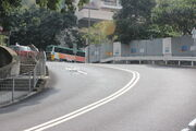 Fortress Hill Rd bends Tin Hau Temple Rd