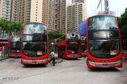 Sau Mau Ping (Central) 1A Red bus 201708