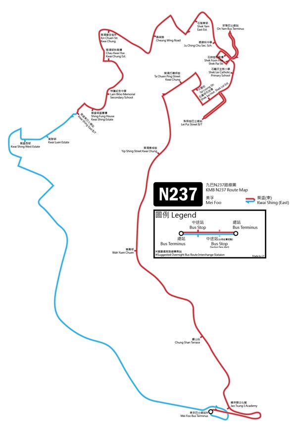 N237 routemap