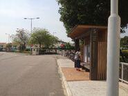 Fairview Park number five bus stop