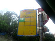 CTB Foo On House 930 Bus Stop