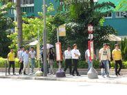 Nam Ming House, Nam Shan Estate bus stop---- (2013 10)