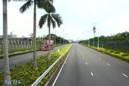 Shenzhen Bay Bridge beside Examination Area 201406