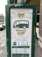 Villa Athena bus stop 15-07-2020