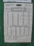 Pacific View shuttle timetable 2010