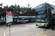 TE14 Sunny Bay Station Stop flag 20161014
