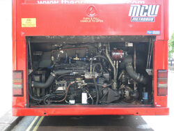 ML16 MXT179 Iveco engine