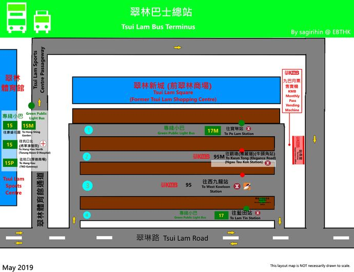 Tsui Lam B.T. Layout Map