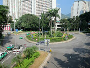 San Wan Road Roundabout 201509