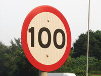 Speed limit 100