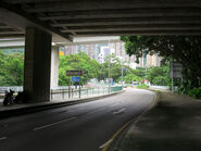 Siu Lek Yuen Road under Tate's Cairn Highway 20170727