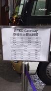 Sheung Tak to TKO Gateway Timetable